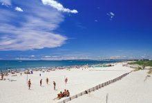 La Grande Motte : la playa de Montpellier