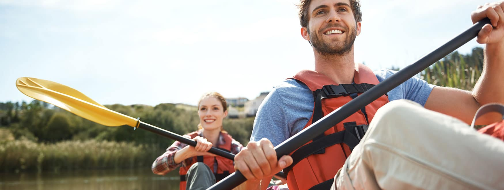 Paseo en canoa por el río Lez
