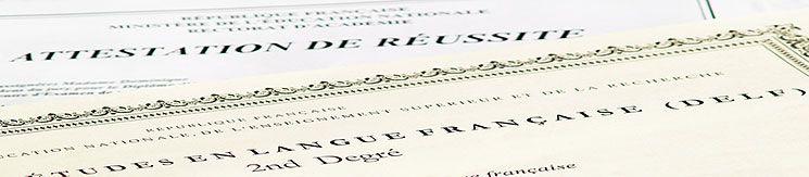 Varios exámenes de francés según las necesidades de cada uno